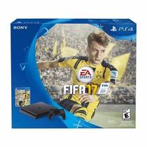 Playstation 4 Slim 500 Gb 2 Joysticks + Fifa 17 Físico U S A