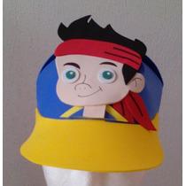 Gorritas De Jake Y Piratas Fomi Foami Fiesta Infantil Jake