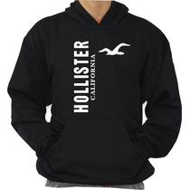 Blusa Hollister Moleton Canguru Com Capuz