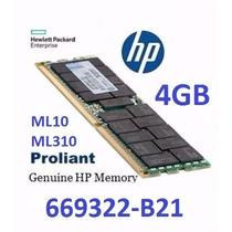 4gb Memorias Hp Servidor Pc3-12800e Ddr3 1600 Ecc Unbuffered