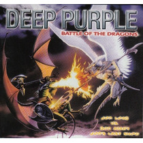 Deep Purple Cd Battle Of The Dragons Importado Novo Digipack