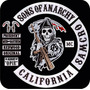 Sons Of Anarchy - 12 Parches Juego Completo + Regalo