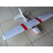Planta Aeromodelo Cesna 182 Elétrico - Pronta P/ Corte Laser