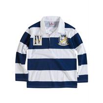 Camisa Polo Infantil M.longa Masculina Tam.4 - Frete Grátis