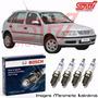 Jogo Vela Bosch Sp07 Gol G3 1.0 16v Gasolina Gnv 76cv 99-05