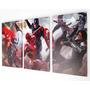 Cuadros Trípticos Capitán América 3 Civil War