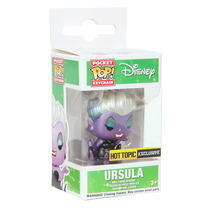 Funko Pop Llavero Ursula Metallic Exclusiva La Sirenita