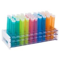 40 Piezas De Colores Surtidos De Plástico Del Tubo De Ensayo