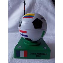 Raro E Lindo Rádio Funcionando Da Copa Do Mundo 1998
