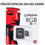 Micro Sd 8gb Kingston Original Sellada Blister Oferta...!!!