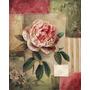 Quadro Decorativo Em Tela 60x75 Cm - Moderno Rosa Abstrato 2