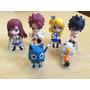 Fairy Tail Chibi Anime Manga Figuras Muñecos Pvc