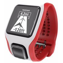 Reloj Tomtom Runner Cardio Con Ritmo Cardiaco Blanco-rojo