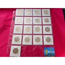 Coleccion 17 Monedas Olimpicas Olimpiadas Rio Real Brasil