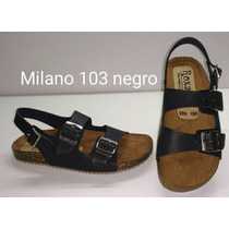 Sandalias Tipo Birkenstock Milano 103 Negro H&m Zara Oysho