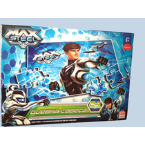Quebra-cabeça Max Steel 24 Peças - Mattel
