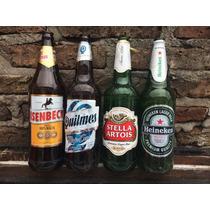 Envases De Cerveza Quilmes Stella Heineken Isenbeck