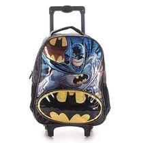 Mochilete Infantil Xeryus Batman - Preto U