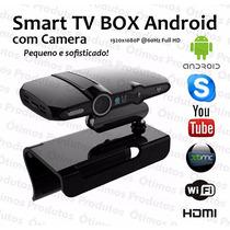 Smart Tv Box Android Camera Wifi Full Hd + Mini Teclado
