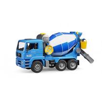 Caminhão Man Betoneira Brinquedo Bruder 2744