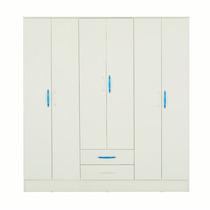 Placard Mosconi Linea Juvenil 6 Puertas / 2 Cajones Art. 26