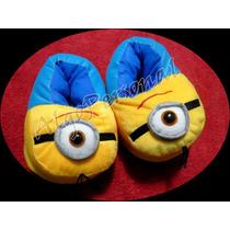 Pantuflas Super Originales De Minions!! - Excelente Calidad