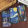Funda Cuadros Pintura Van Gogh Iphone 6 6s Plus + Templado