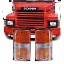 Par Lanterna Seta Caminhão Scania 112 113 Novo