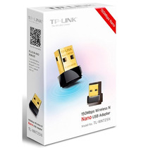 Adaptador Tp Link Nano Usb Wifi Red Inalambrica 150mbps Pc