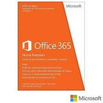 Microsoft Office 365 Home( Original, Novo E Lacrado)