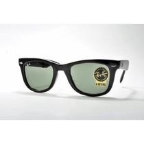 Gafas Ray-ban Wayfarer Gafas De Sol Plegable Marco Negro /