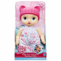 Brinquedo Menina Nova Boneca Hasbro Baby Alive Naninha B7114