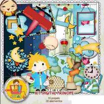 Kit Imprimible El Principito 6 Imagenes Clipart