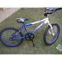 Bicicleta Blue Bird De Niño Rin 16 Azul Y Blanco Poco Uso
