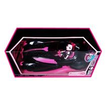 Carro Monster High Con Muñeca Draculaura Original Mattel!!!