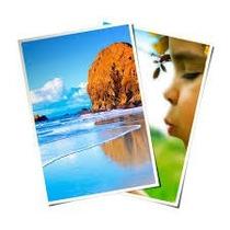 500 Folhas Papel Glossy Fotográfico À Prova D´água 220g A3