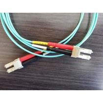 Cable Lc-lc 50/125 Om3 Duplex 10gb Multimodo Fibra Optica 1m