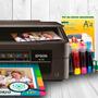 Impresora Epson Xp 211+sist Con C/ 200 Hojas P/fotos Gratis