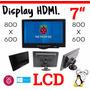 Raspberry Pantalla 7 Pulgadas Display Monitor Con Base