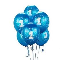 Cyan # 1 Balloons 11 (6 Unidades)