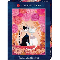 Rompecabezas Gatos Romance 1000 Piezas Heye Aleman 29658