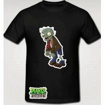 Playera Plantas Vs Zombies Para Dama Niño Y Caballero