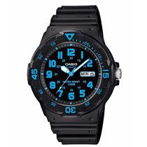 Relógio Casio Mergulho Mrw-200 H-2b Calendário Wr-100 Metros