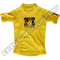 Remera Body Glove Lycra Niño Manga Corta