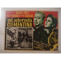 Antonio Aguilar, Mi Adorada Clementina, Cartel De Cine