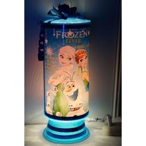 Frozen Fever Centros De Mesa Lamparas Personalizadas Frozen