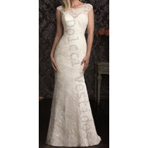 Vestido De Renda, Sereia Longo De Noiva, Casamento