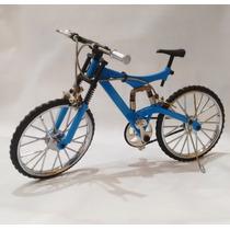 Bicicleta De Montaña De Metal Escala 1:8