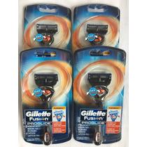Gillette Fusion Proglide - 4 Aparelhos Com Preço De Refil