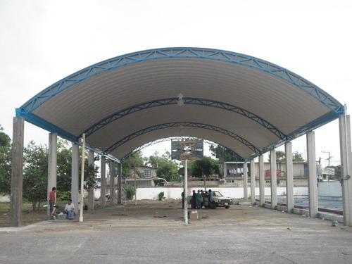 Techos curvos y estructuras para escuelas en - Precio estructura metalica ...
